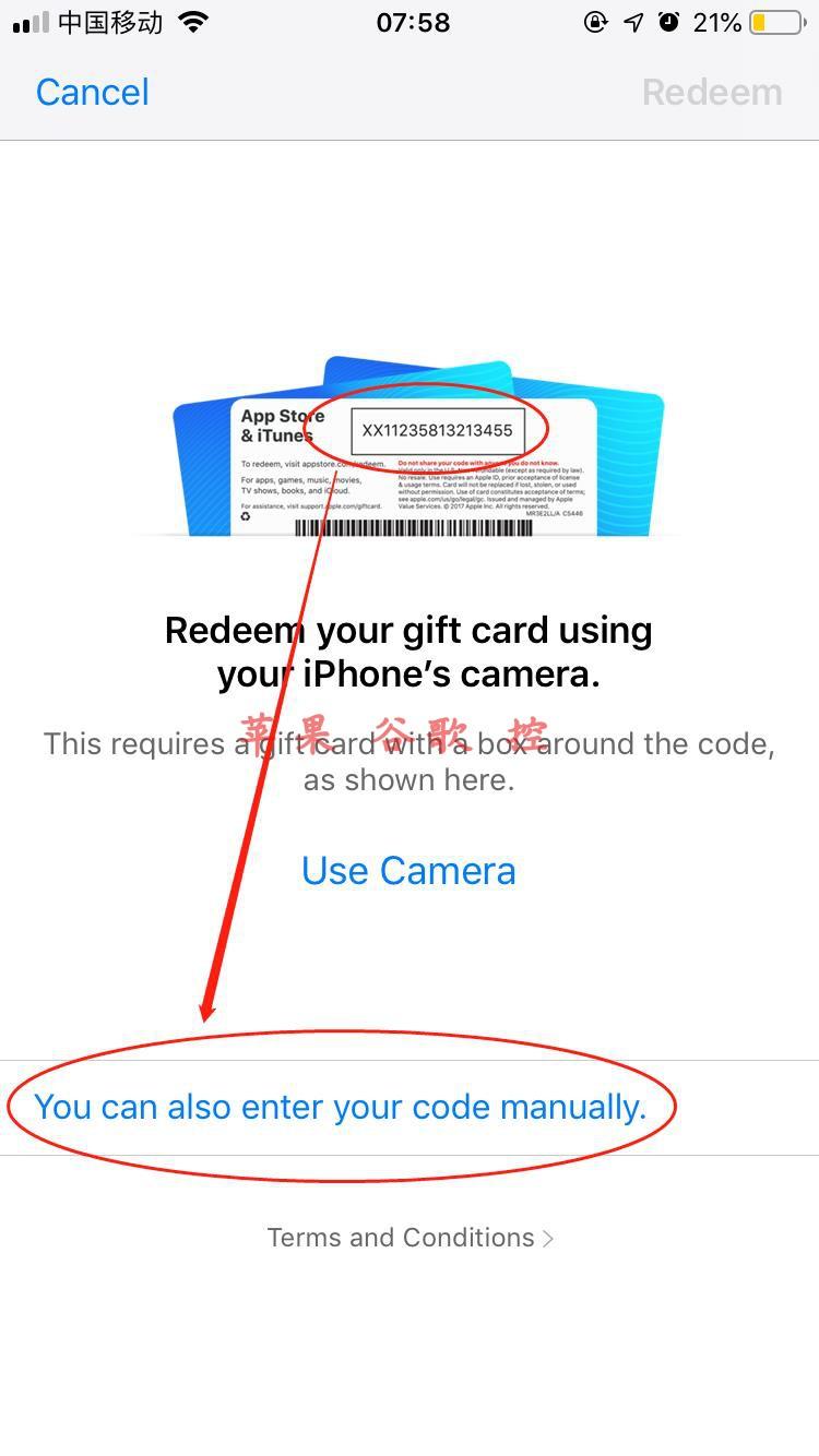 美国区 Apple ID在线充值 iTunes Gift Card