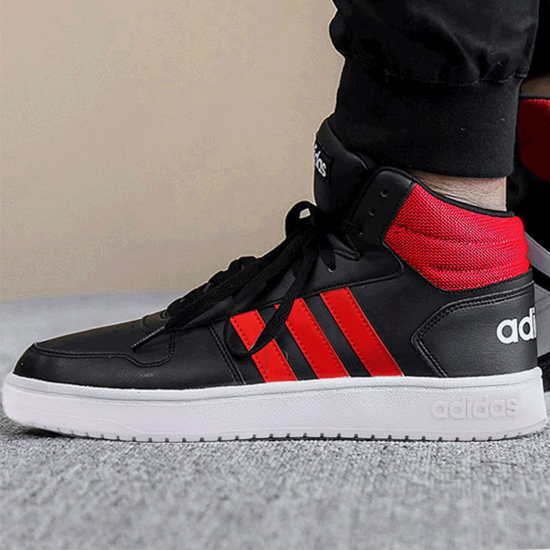 adidas阿迪達斯三葉草板鞋男鞋子2018秋季保暖運動鞋高幫鞋休閑鞋