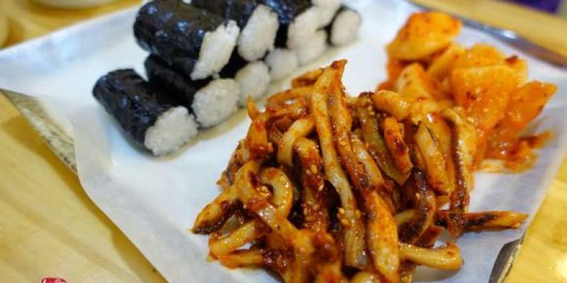 首爾明洞|忠武紫菜包飯.讓人驚豔的辣拌魷魚