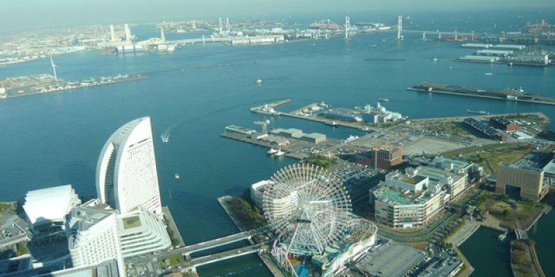 日本Day137|橫濱,對著天空拍也美.拉麵博物館大啖拉麵