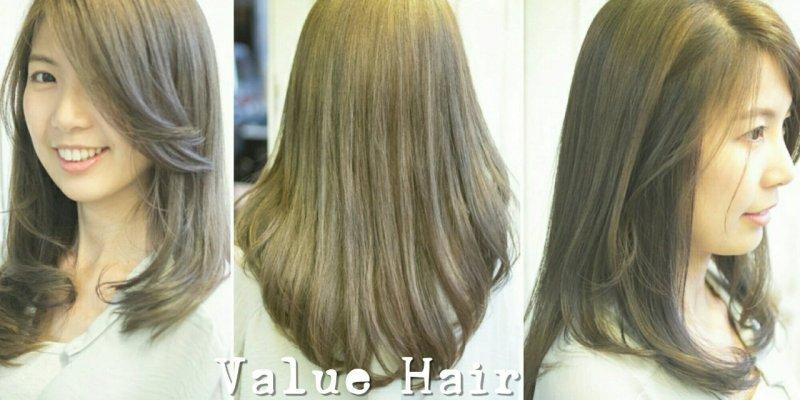 台中染髮推薦|Value Hair北平店 醫美式染髮  量身打造的髮型設計