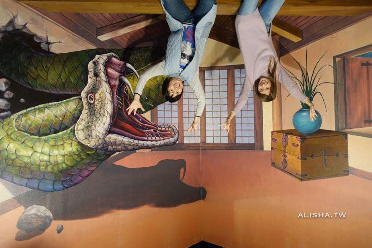 首爾|Trickeye弘大特麗愛3D美術館 怎麼拍都好玩 app訂票超划算