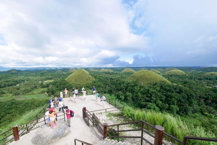 菲律賓.薄荷島|到底誰嚇誰之眼鏡猴。療癒系的巧克力山丘