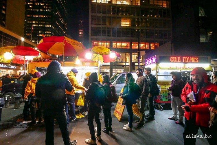 紐約美食 The Halal Guys・清真希臘烤肉飯・紐約時報專訪過的黃色餐車