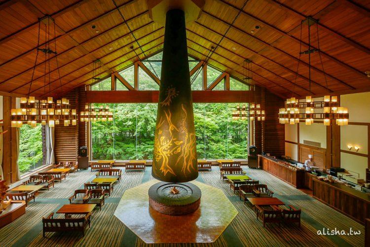 日本青森|奧入瀨溪流酒店:森林神話,苔蘚主題甜點