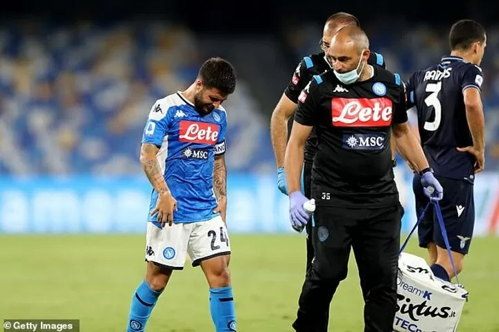Napoli could be without Insigne for crunch UCL clash with Barcelona 2