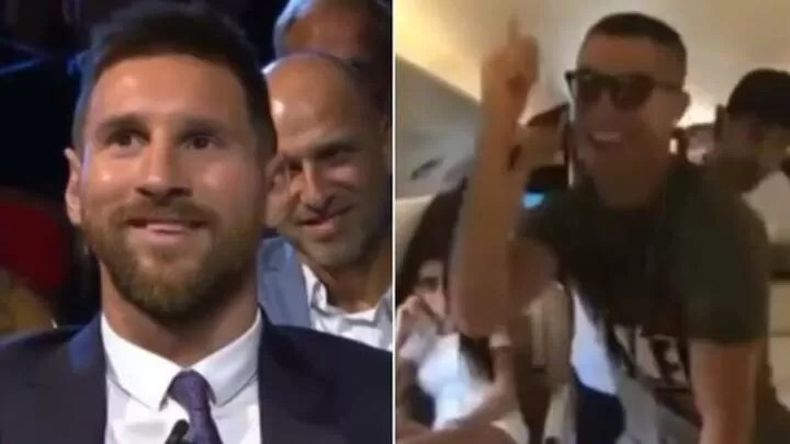 The Ronaldo and Messi dance that went viral 2