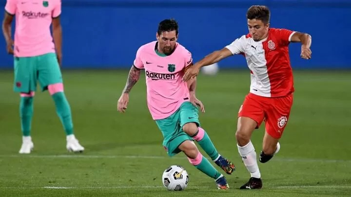 Messi opens his account under Koeman with a double 2