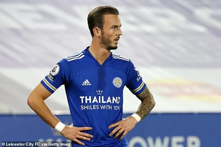 James Maddison to make first start for Leicester in three months in Carabao Cup clash with Arsenal 2