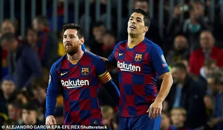 Luis Suarez says his friendship with Lionel Messi led to Barcelona exit 2