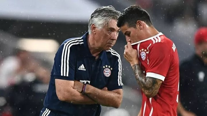 Ancelotti and James' father-son relationship 3