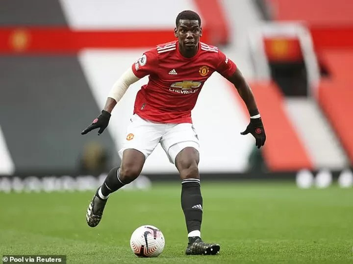 Manchester United trigger Paul Pogba's 12-month contract extension to tie star down until 2022 2