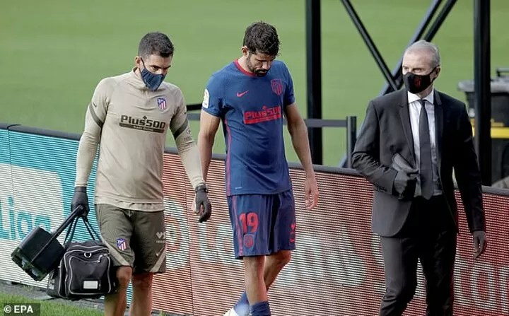 Diego Costa set to Atletico Madrid's Champions League clash with Bayern through injury 4