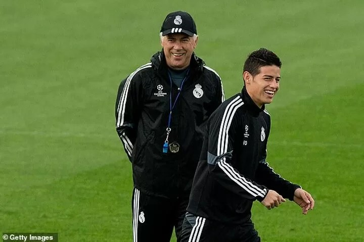 Ancelotti's presence at Everton was reason Rodriguez moved, says Paul Clement 4