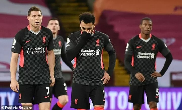 Pressure is all of a sudden mounting on Liverpool after injury 10