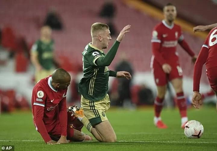 Premier League did look at whether Fabinho fouled McBurnie 2