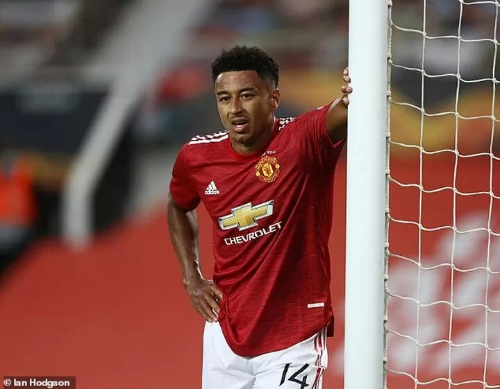 What happened to Jesse Lingard? 2