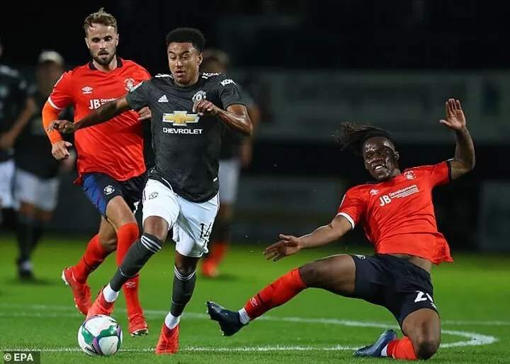 What happened to Jesse Lingard? 6