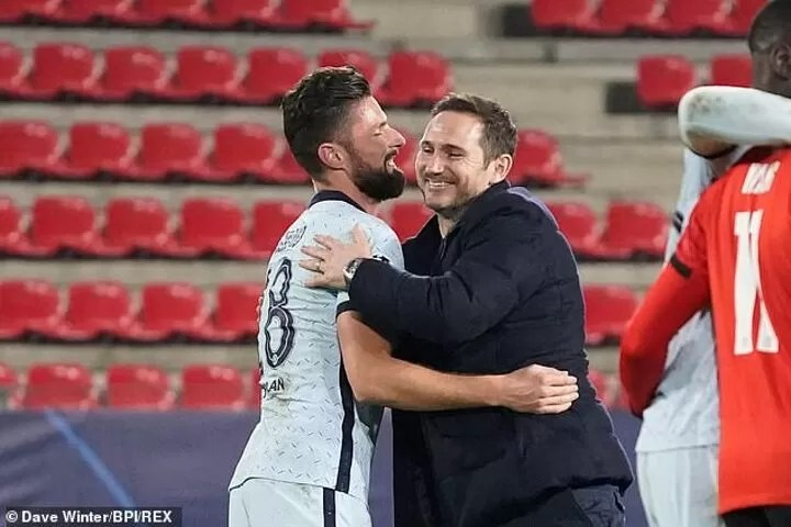 Frank Lampard insists Olivier Giroud has part to play in his Chelsea plans 5