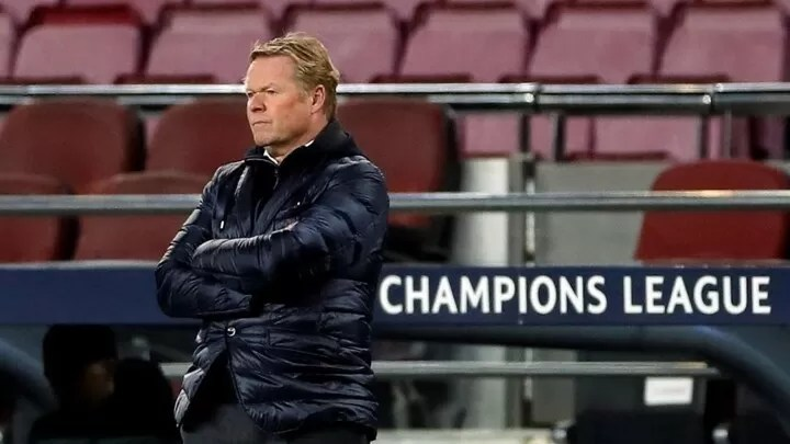 Koeman: Barcelona lost the match in the first 30 minutes 1