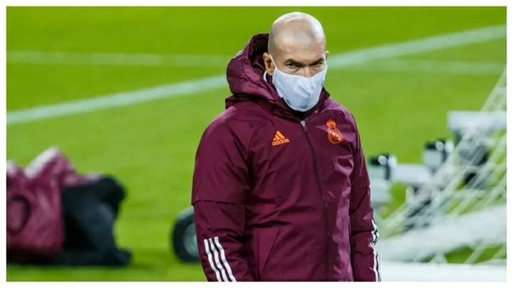 If Zidane has to self-isolate, he'll miss the Supercopa semi-final 2