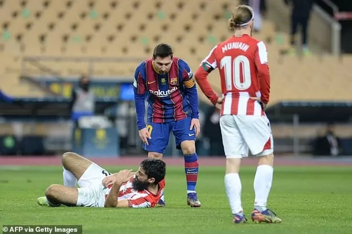 Messi could face 12-MATCH BAN for punching opponent 4