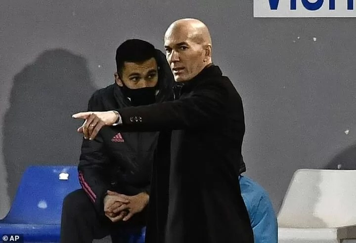 Zidane admits the pressure is back on after Madrid's shock Copa del Rey knockout 5
