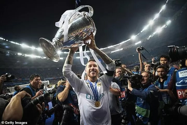 Sergio Ramos WILL NOT be a Real Madrid player from next season after he rejected TWO contract offers' 4