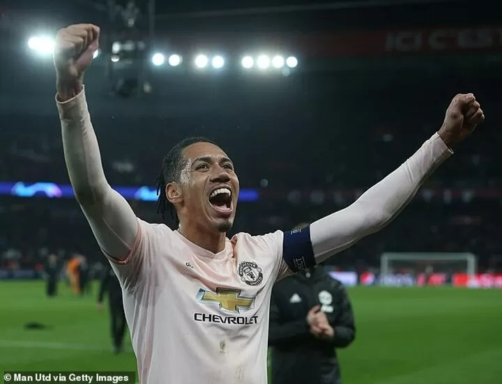 Chris Smalling makes his Roma return from injury and set to play against Manchester United 4