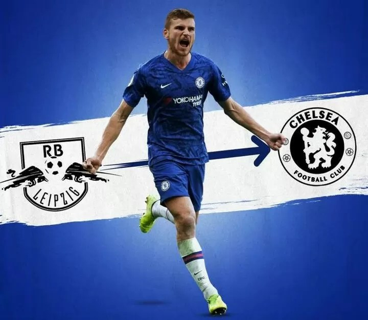 OFFICIAL: Chelsea have confirmed the signing of Timo Werner from RB Leipzig 2