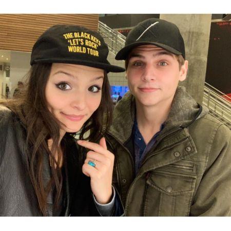 Cassady with her lovely brother, source Instagram cassadymcclincy