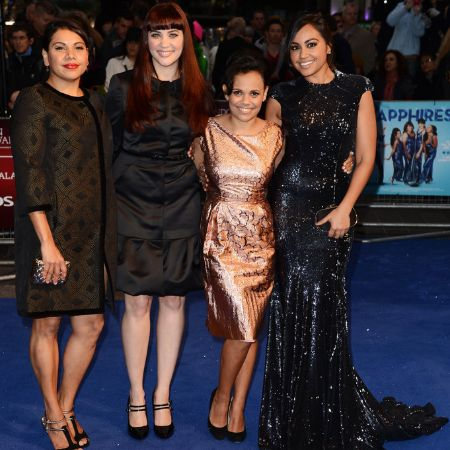 Jessica Mauboy attends the premiere of 'The Sapphires'