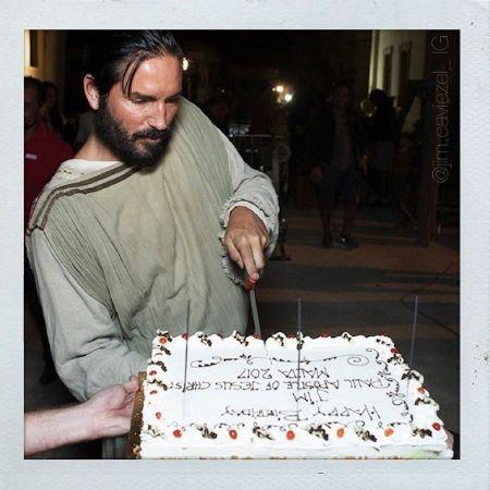 Jim celebrating