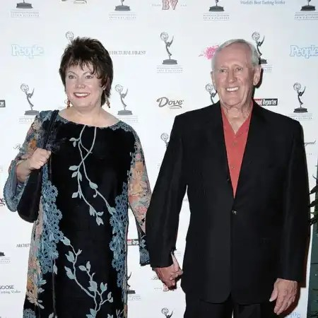 Len Cariou with his wife