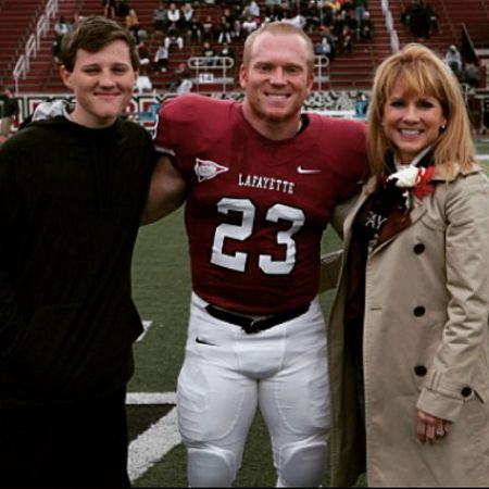 Gruden with her sons