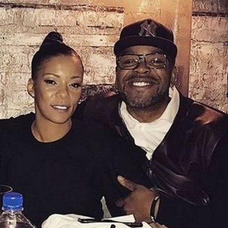Tamika Smith with her husband Methodman
