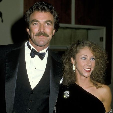 Jillie and Tom Selleck in their 80's