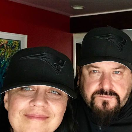 Bob and his wife,Lisa