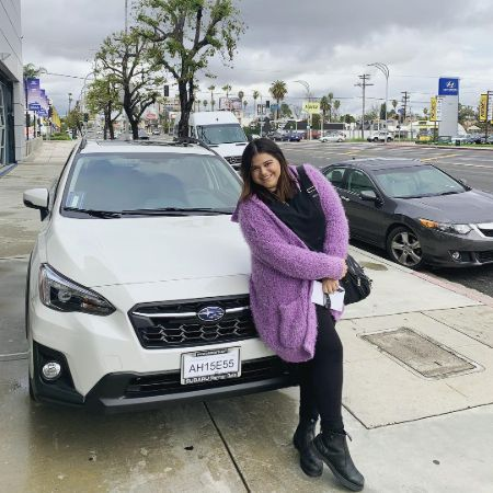 Mayan says that she bought this car with her own money.