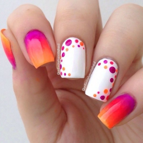 Neon Fun 24 Fancy Nail Art Designs That You Ll Love Looking