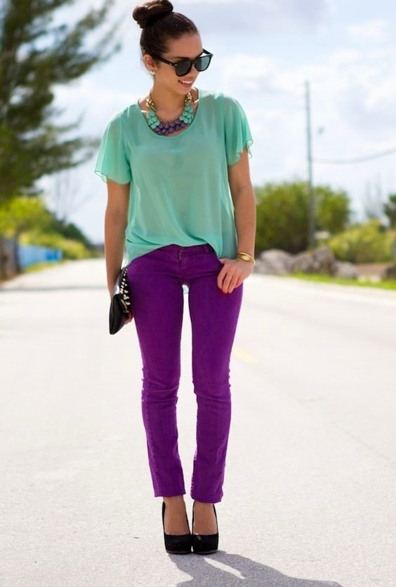 clothing, color, pink, turquoise, footwear,