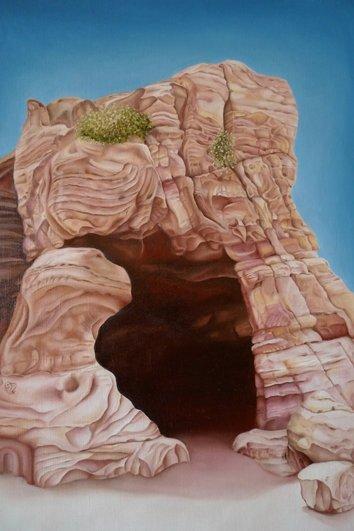 Pink Caves Of Petra Jordan 7 Pink Natural Wonders Of