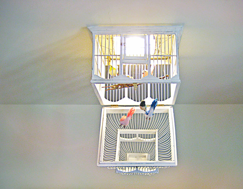 Birdcage Chandelier 10 Insanely Cool DIY Chandeliers
