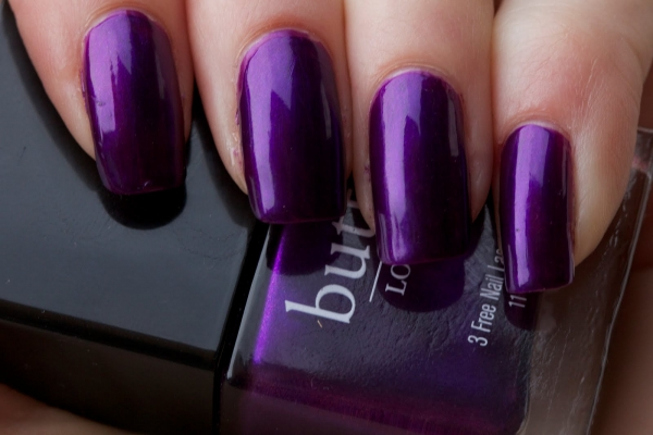 Er London 3 Free Nail Lacquer In Proper Purple