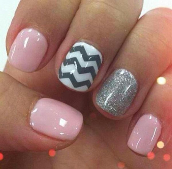 Nail Finger Care Pink Manicure