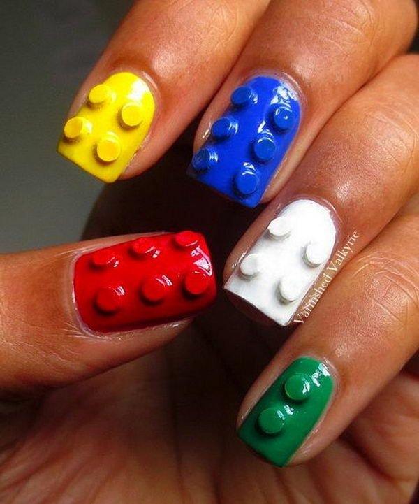 Nail Finger Care Manicure Hand Via 35 Cool 3d Art