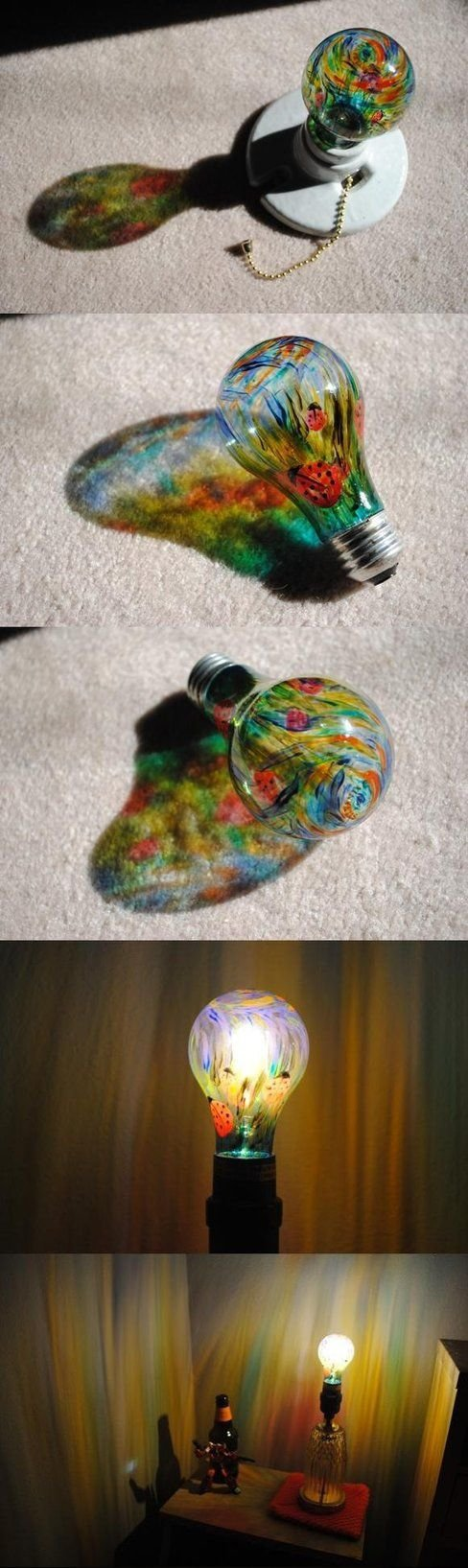 Color Light Bulb Sharpie