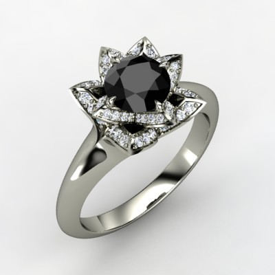 8 Reasons To Go With A Black Diamond Engagement Ring