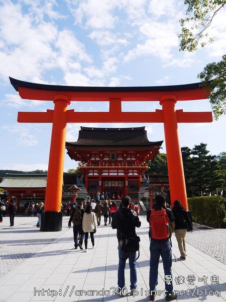 【京都景點】伏見區 伏見稻荷大社 ● 不容錯過的壯麗「千本鳥居」! ❤❤