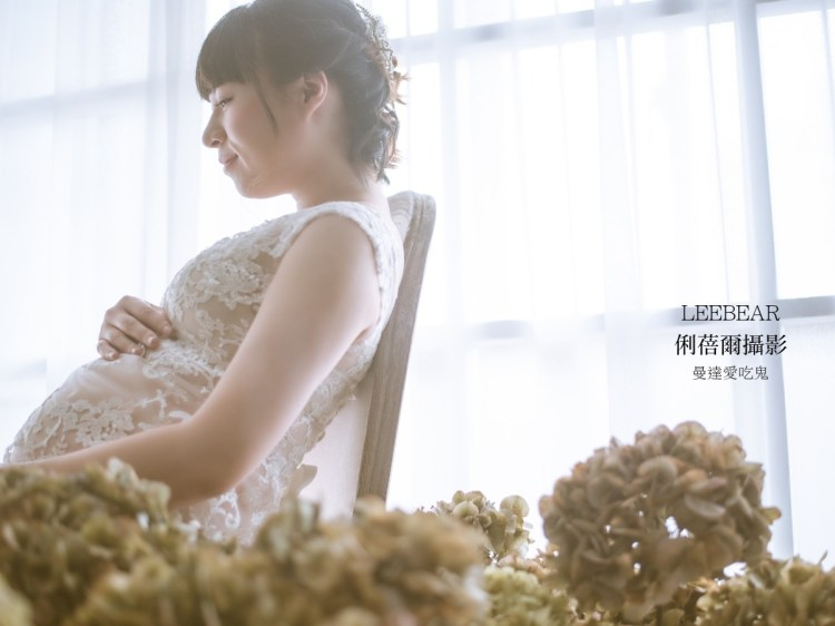 【孕婦寫真】為自己留下孕期難得紀錄。LEEBEAR 俐蓓爾攝影。懷孕30週。台中攝影|台中寫真